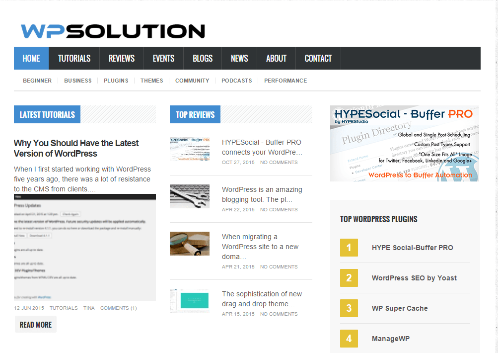 WP Solution - WordPress Solution