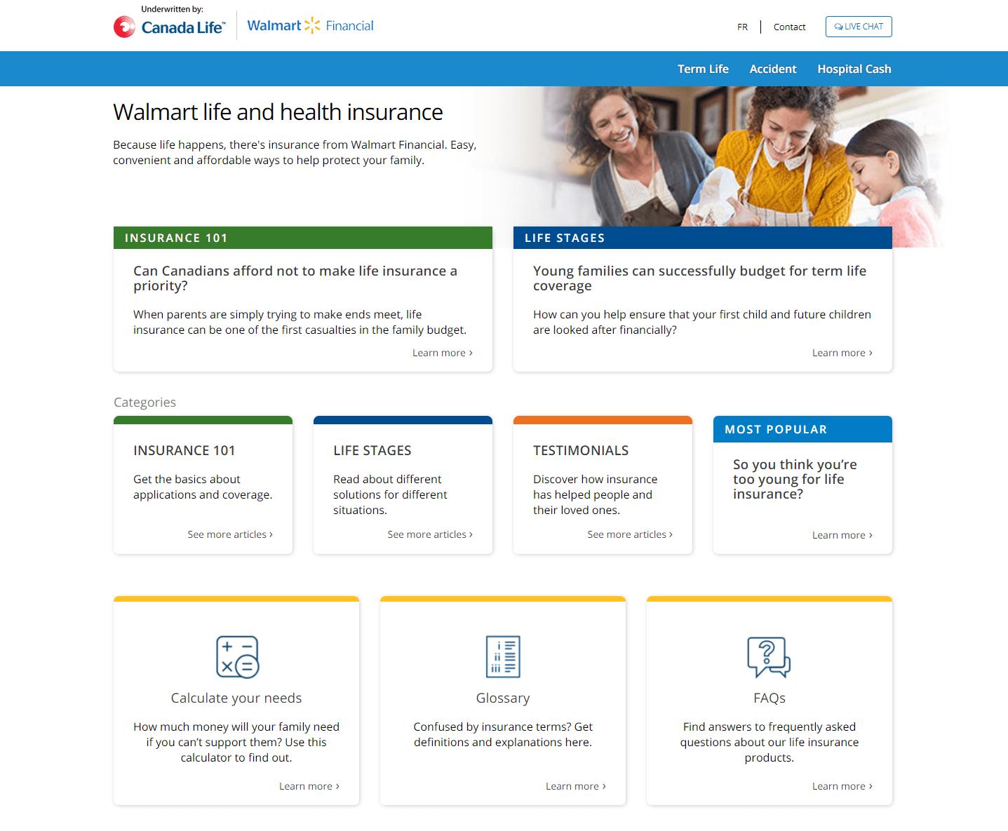 canadalifeinsure.ca Walmart